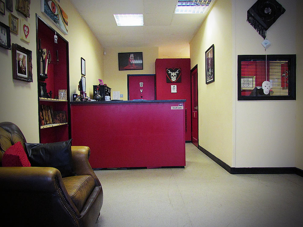 About us cherrybomb tattoo studio cardiff for Cherry bomb tattoo parlor perth